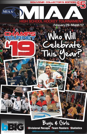 MIAA High School Hockey Tournament Program