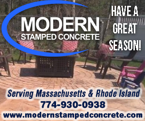 MODERN STAMPED CONCRETE