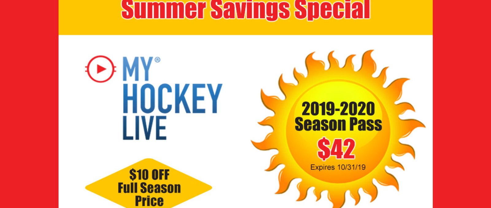 2019-2020 Subscription Summer Savings!!